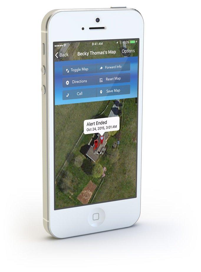 Emergency Alert System App