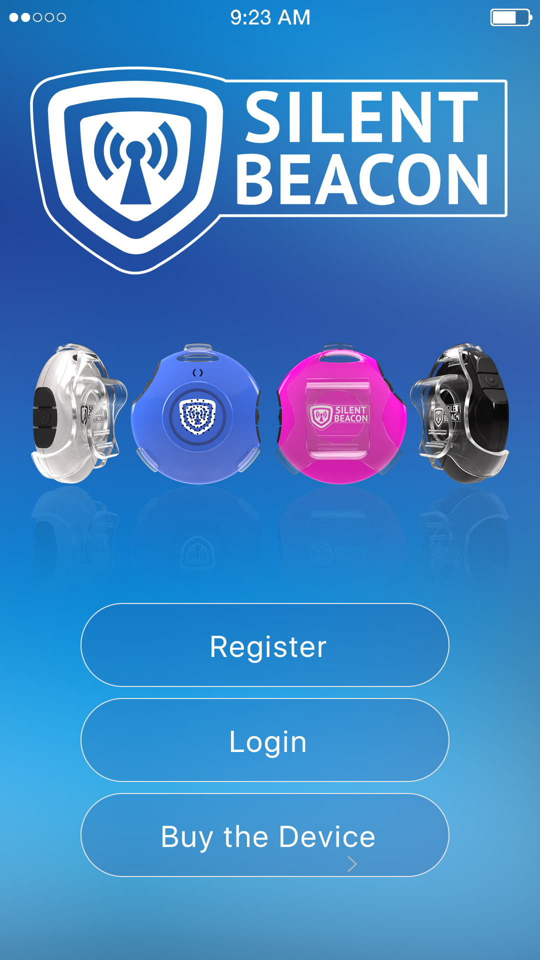 Safety App and Emergency Alert App with a Panic Button | Silent Beacon