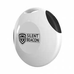 Personal safety tracking device EASE White