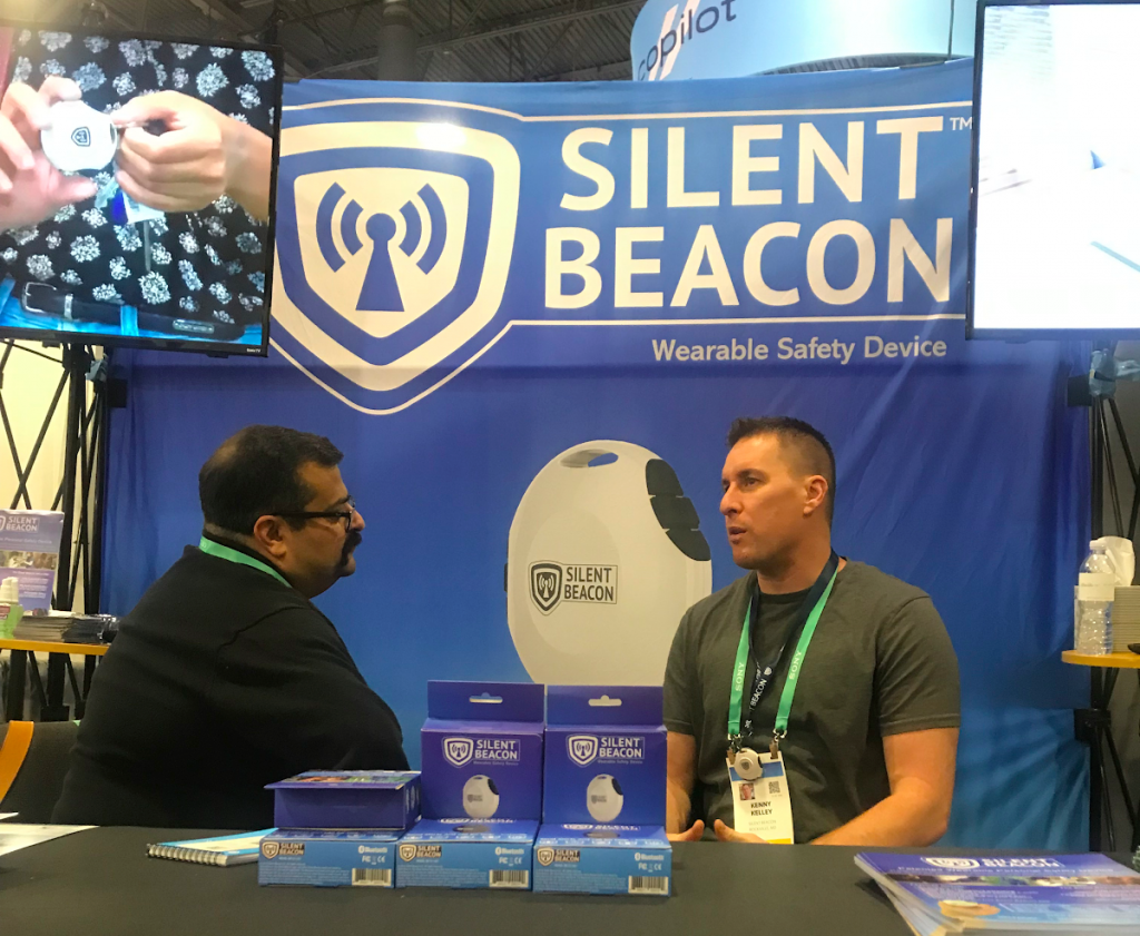 Silent Beacon Personal Safety device and app